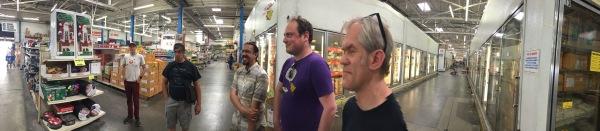 The Jazkarta team at LAX-C, a city block sized Asian food distributor and restaurant supply